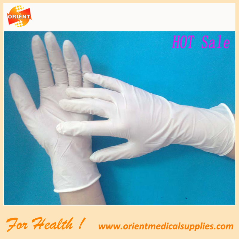 surgical Medical latex gants gants d'examen
