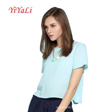 Lady Kleidung neue Mode Frauen Shirt Sommerkleidung