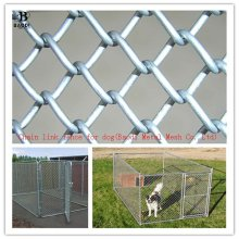 galvanized Chain link fencing for dog