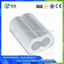 8 Tipo Acero Aluminio Cable Ferrules