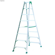 Aluminum A frame folding ladder