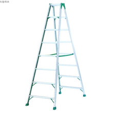 Aluminum A frame folding ladder