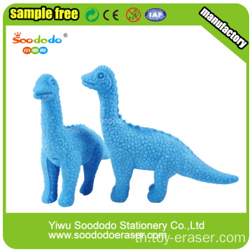 Blue Dinosaur Shaped Eraser,Animal Mini Promotion toy