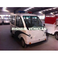 Four Seat 3 KW Closed Type Street Legal Electric Cart for C