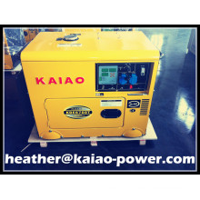 Lowest Price 5000W 5kw Portable Generator Diesel Silent CE ISO BV SGS Approved