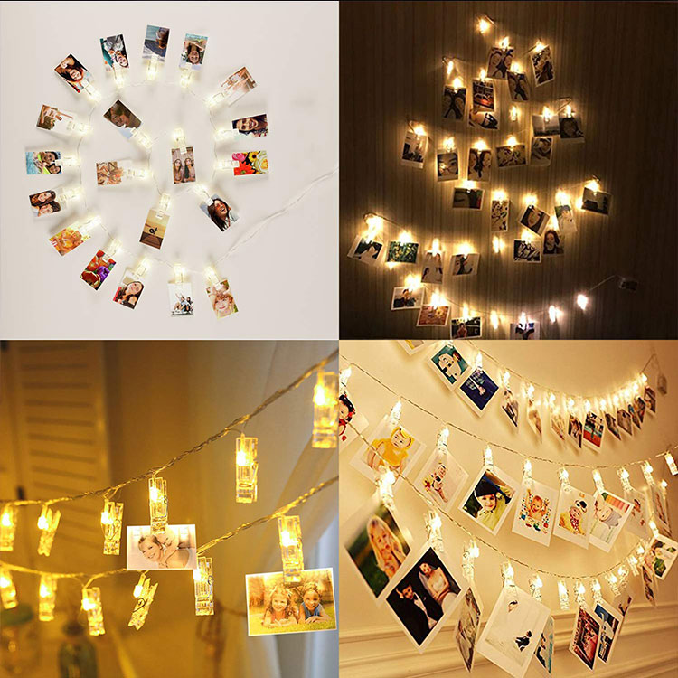 clip string lights