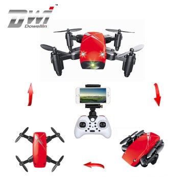 DWI Dowellin Mini S9 Micro Foldable RC Quadcopter With Headless Mode 360 degree Roll