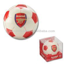 Nueva caja de regalo del PVC del banco del ahorro del fútbol para BS130520A