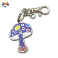 Custom metal nameplate tag charms keychain