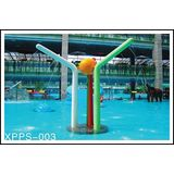 Customized Spray Icon Water Color Column Aqua Play, Aqua Park Equipment For Kids Adults