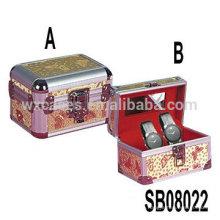 Aluminium-Uhrenboxen für 2 Uhren Großhandel