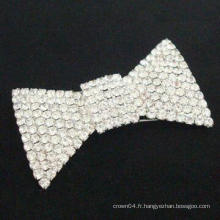 Broche en strass simple en gros