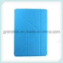Etui tablette Smart PU cuir pour iPad avec support de la couverture