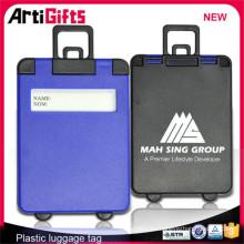 Etiqueta de equipaje de plástico duro al por mayor de fábrica de China