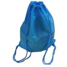 Le sac à dos simple en tissu bleu (hx-q061)