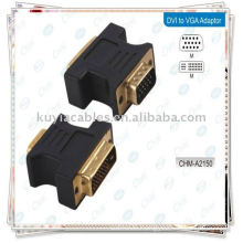 DVI to VGA adaptor Female Monitor Adapter Converter
