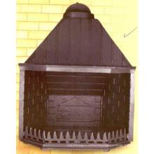Cast Iron Insert Fireplace Cast Iron Stove (GF005)