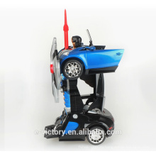 2015 Newest cool rc drift car toy 360 degrees car transform robot toy