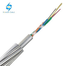 OPGW Manufacture 12 Core Fiber Optic Cable OPGW Wire