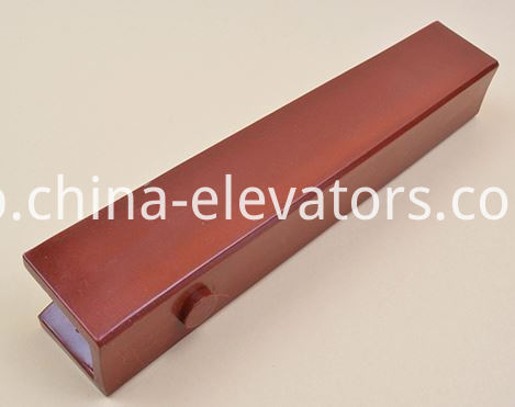 guide shoe insert Mitsubishi Elevators 10mm 16mm
