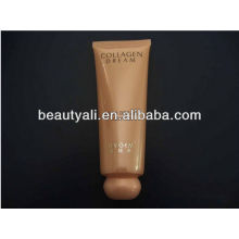 Empty Plastics tube for cosmetic packaging with ball cap