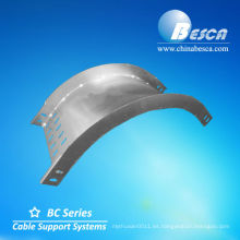 Bandeja de cable codo galvanizado interno / externo (UL, cUL)