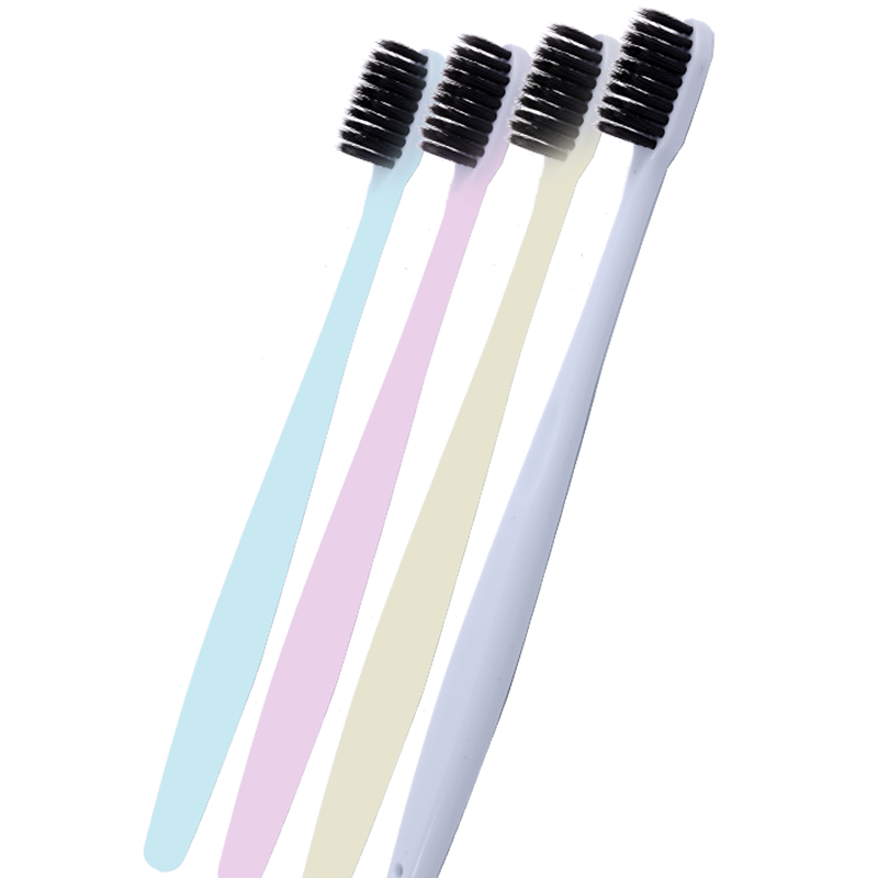 Bamboo Charcoal Bristles Toothbrush