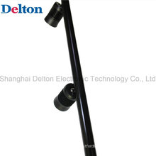 Black 2 Light Flexible LED Pole Spot Light for Showcase Lighting