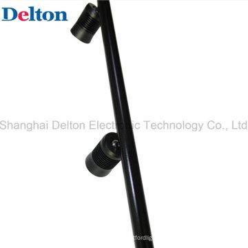 Negro 2 Luz Flexible LED Polo Spot para Iluminación Escaparate