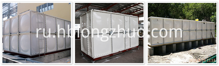 Sectional SMC/GRP/ FRP Water Tank
