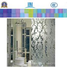 Patterned / Printing / Figure / Rolled / Art Glass Glass para Decoração