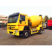 Small Volume 8m3 Howo Concrete Mixer Truck
