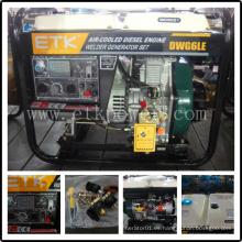 Generador diesel del soldador diesel de la alta calidad del certificado del CE