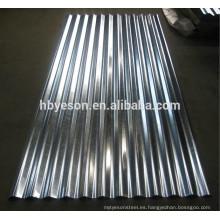 Hoja de acero galvanizado por inmersión en caliente SGCC