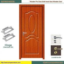 Puerta deslizante del PVC de la puerta interior del PVC de la puerta del PVC del cuarto de baño