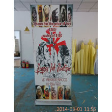 Wide Roller Base Retractable Banner Full Color Printing