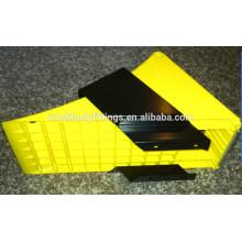 truck trailer plastic pu wheel chock, wheel chock holder