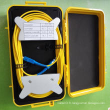 Boîte de lancement OTDR de fibre monomode