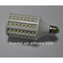 SMD5050 16w 17w llevó la luz del maíz e27 e26 b22 102 leds