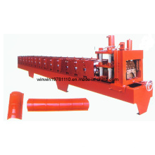 Hot Style 312mm Color Steel Ridge Tile Forming Machine