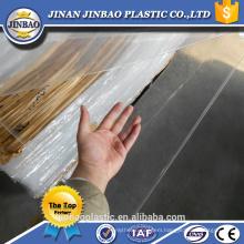 unbreakable virgin mma environmental clear color acrylic plastic plate