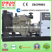 Grupo de geração elétrico diesel aberto do tipo
