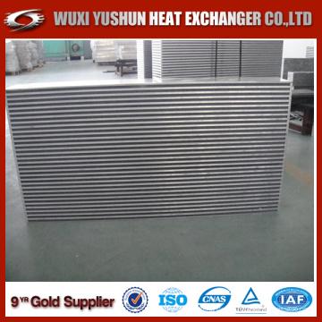 Elevado desempenho da barra e placa Excavator Oil Cooler Core Hydraulic