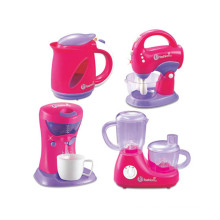 Plastic Kid Pretend Play Set Mini Electric Kitchen Appliance Toy