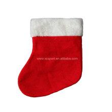 Calcetín de navidad de pana