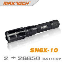 Maxtoch SN6X-10 elegancia Cree T6 LED Durable linterna antorcha herramienta