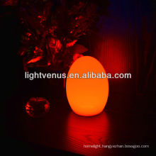 LED egg table lamp with USB cable