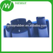 Teclado de silicona de goma de conductividad personalizado personalizable