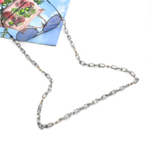 2020 2021 trendy luxury non slip long hoop linked acetate sun glasses chain holder