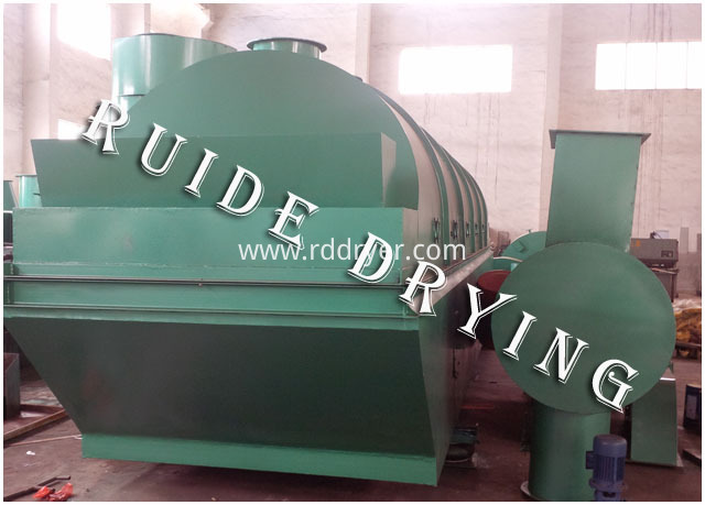 Coal particle dryer machine